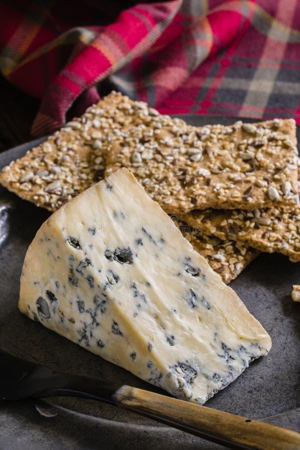 Reifer Stilton-Käse stockfotos