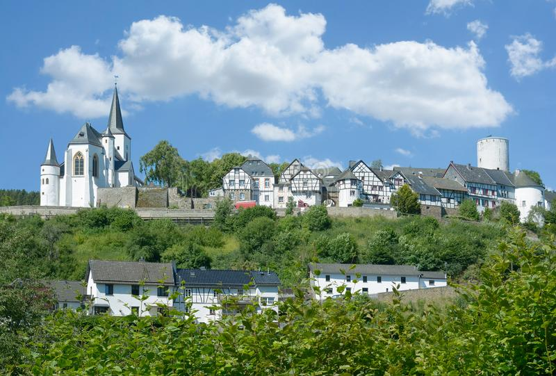 Reifferscheid, Eifel, Reno norte westphalia, Alemanha imagem de stock royalty free