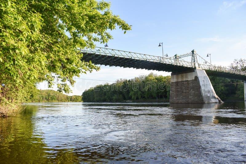 Reiglesville bro arkivbild