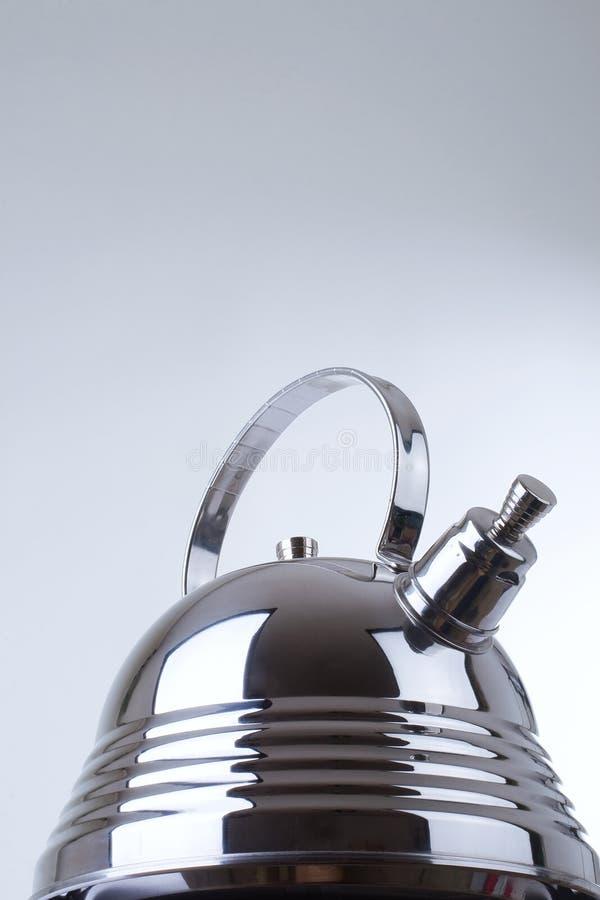 Reihe Bilder der Küchewaren. Teekanne lizenzfreies stockfoto