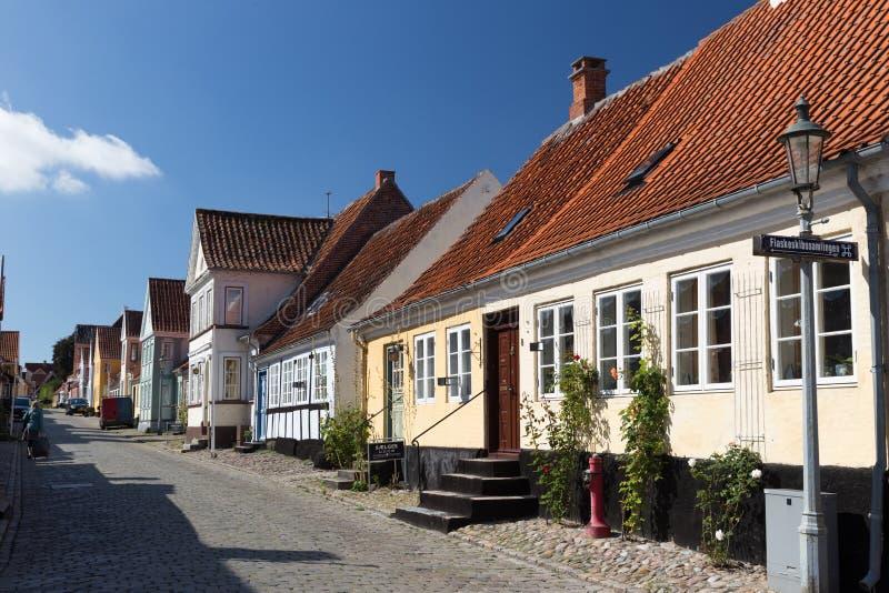 Reihe von Häuser à † rø lizenzfreies stockfoto