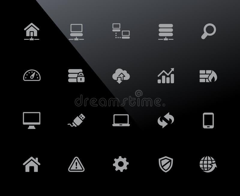 Reihe Web-Entwickler-Icons //32px lizenzfreie abbildung