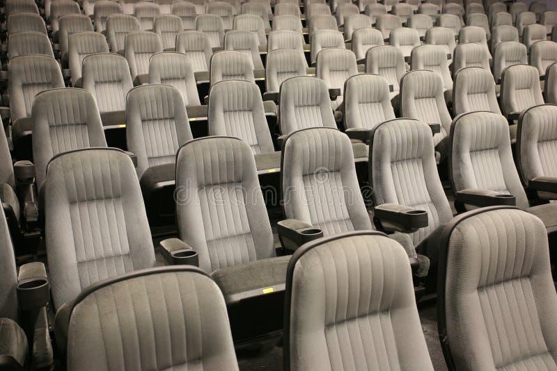 Reihen von leere Sitze stockfotos