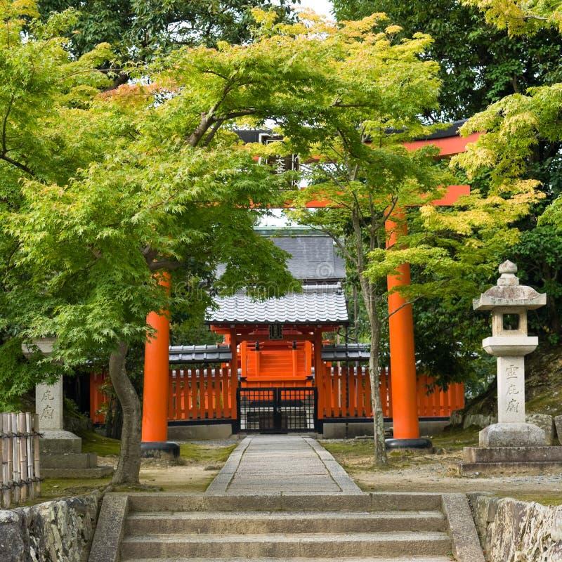 reihibyou寺庙 免版税库存照片