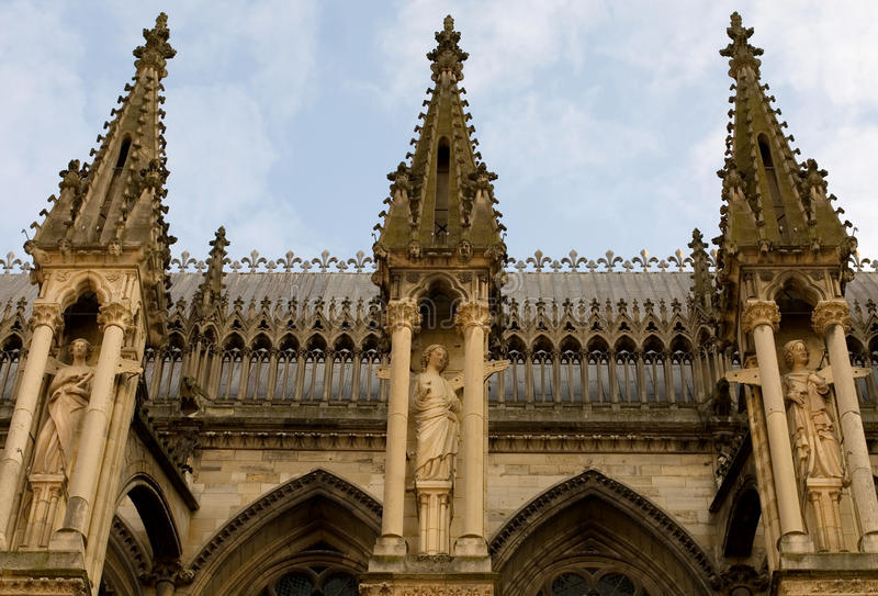Reims Cathedral Royalty Free Stock Photography