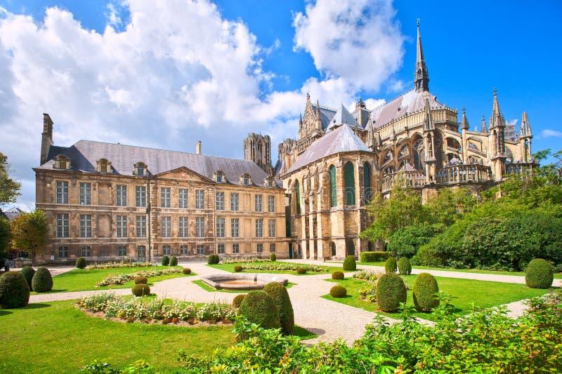 Reims, Frankrijk stock afbeelding