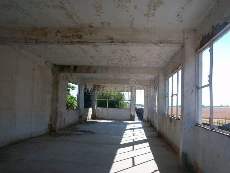 Reims-Gueux ha abbandonato la stanza fotografie stock