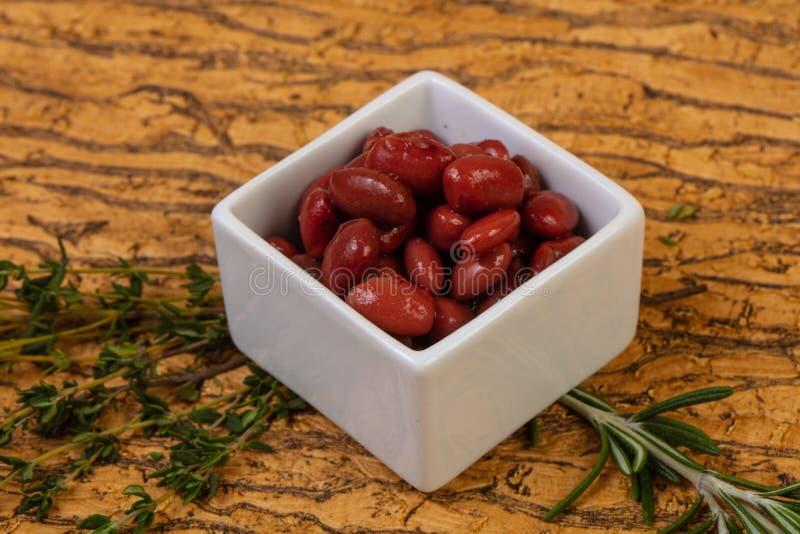 Rein rouge cuit au four photo stock