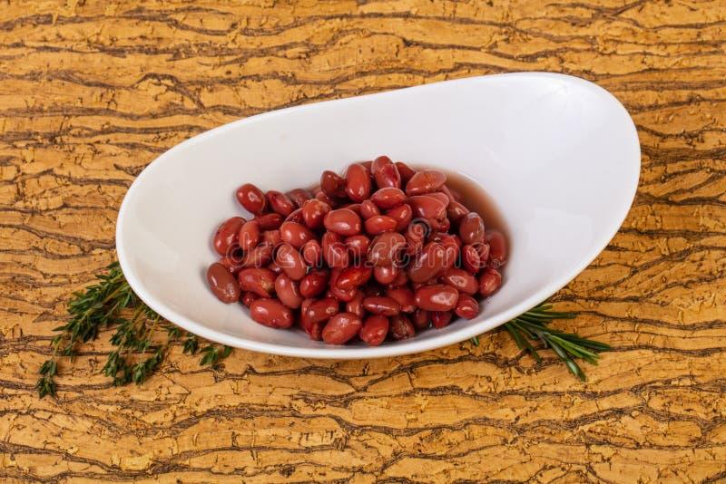 Rein rouge cuit au four image libre de droits