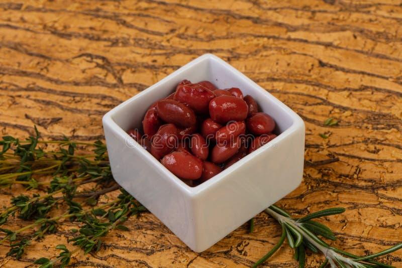 Rein rouge cuit au four images stock