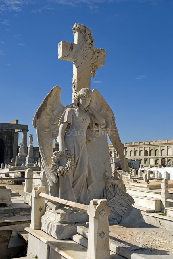 Reina Cemetery, Cienfuegos, Cuba photos libres de droits