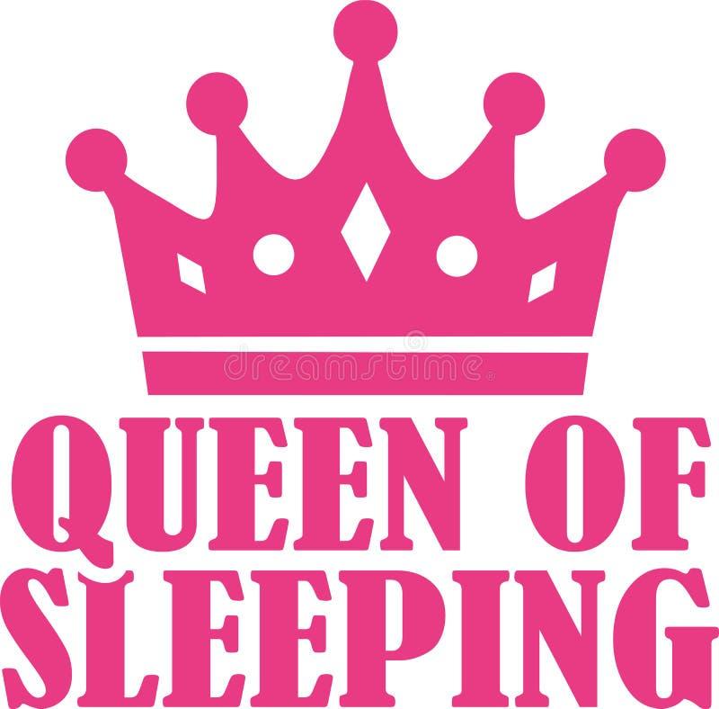 Reina de dormir libre illustration
