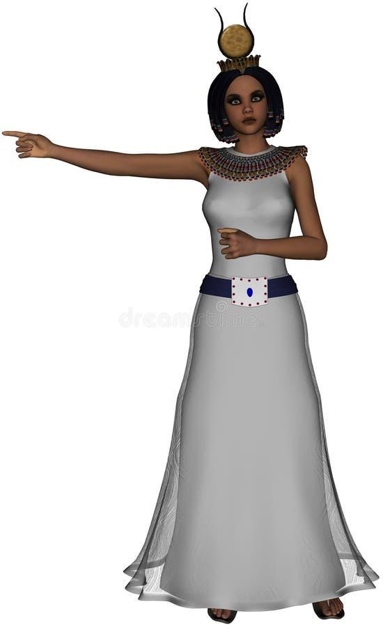 Reina de Egipto ilustración del vector