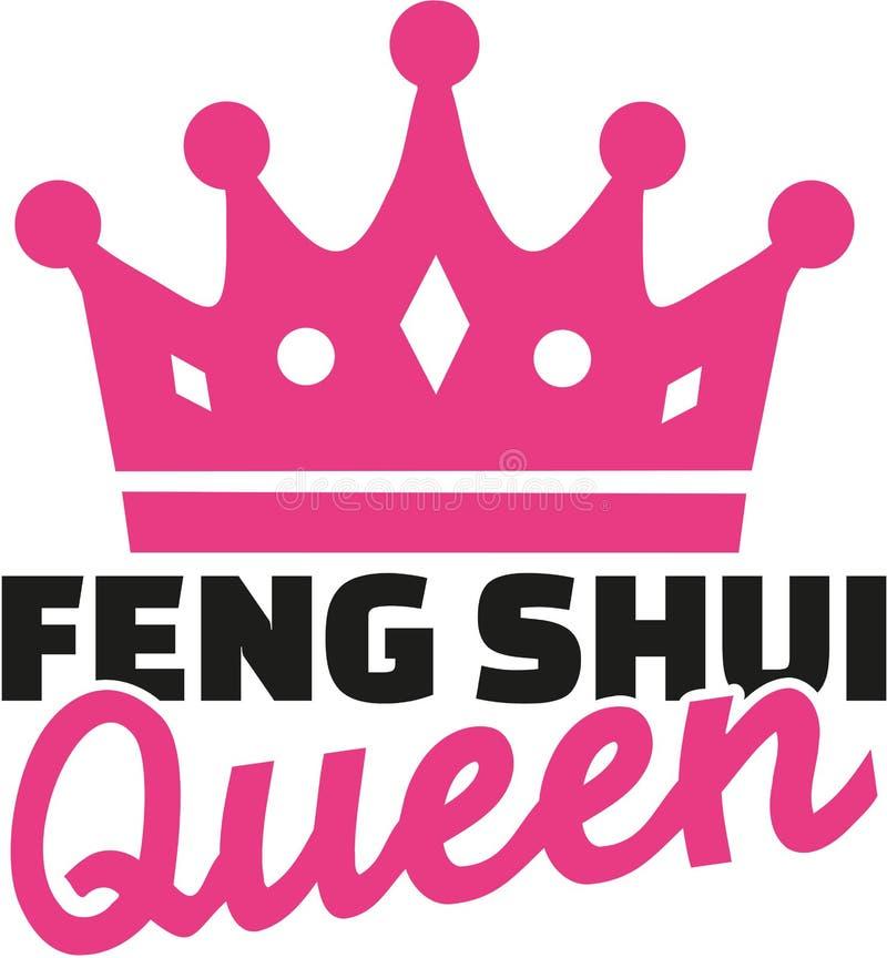 Reina de Feng Shui stock de ilustración