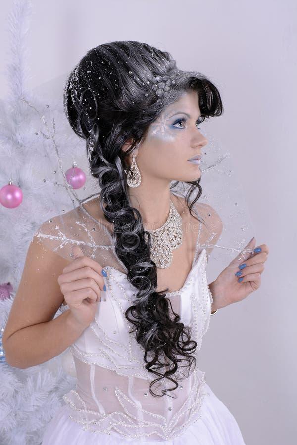 Reina de la nieve fotografía de archivo libre de regalías