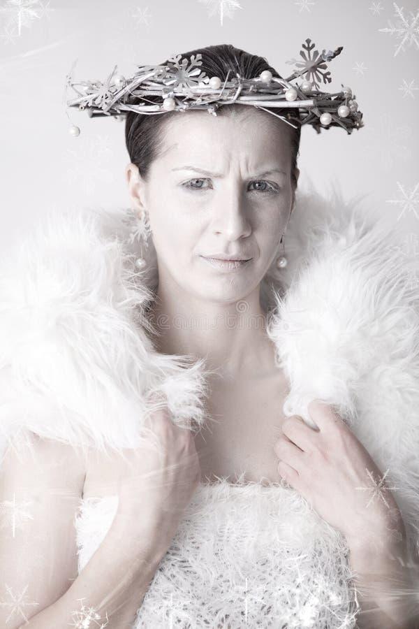Reina de la nieve fotos de archivo libres de regalías