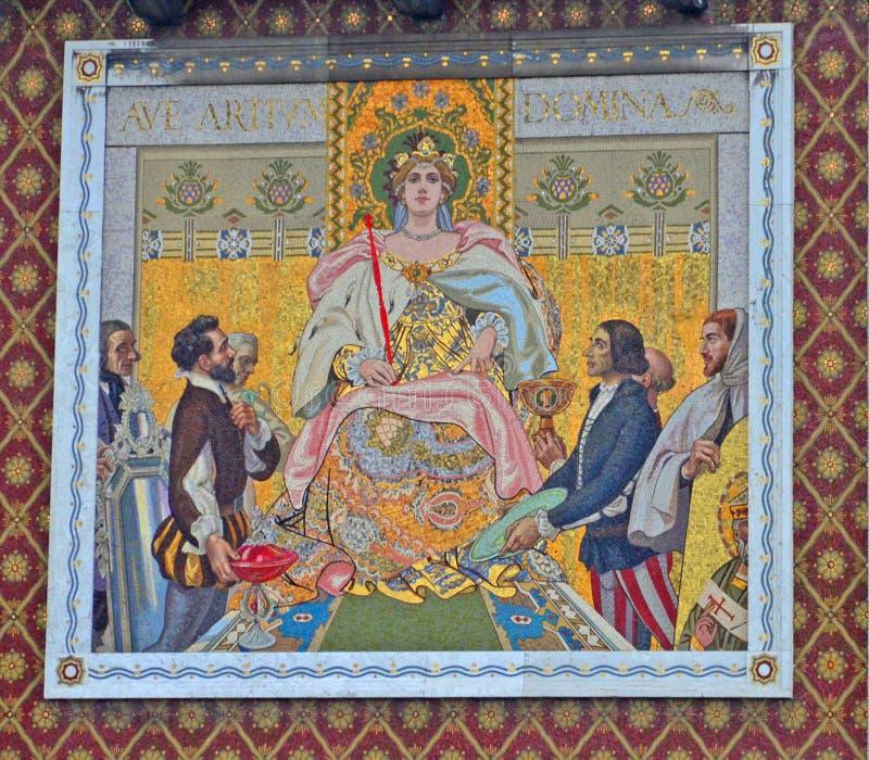 Reina de los artes imágenes de archivo libres de regalías