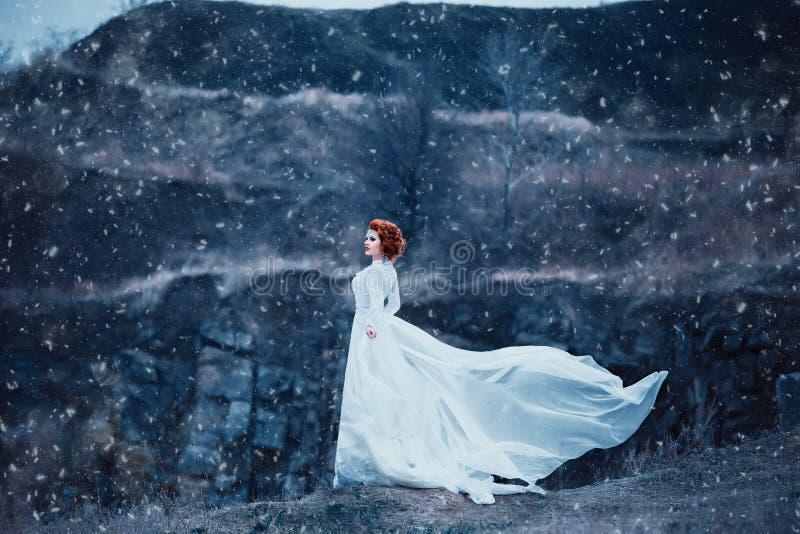 Reina de lujo de la nieve imagenes de archivo