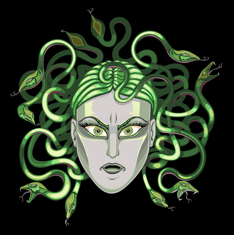Reina de serpientes libre illustration