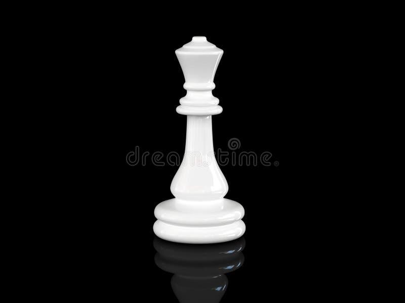 Reina del ajedrez ilustración del vector