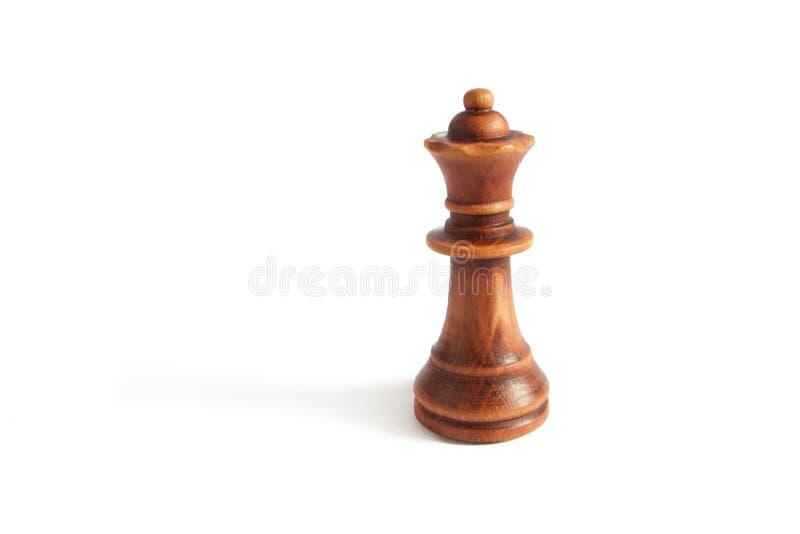 Reina del ajedrez determinado del negro imagenes de archivo