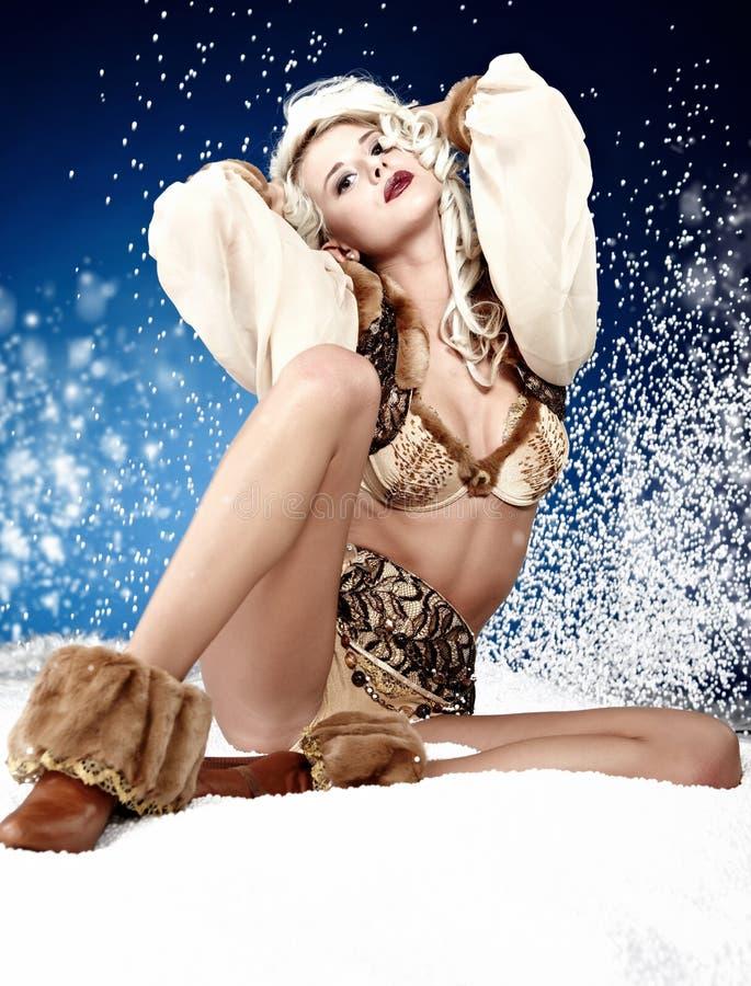 Reina del invierno foto de archivo libre de regalías