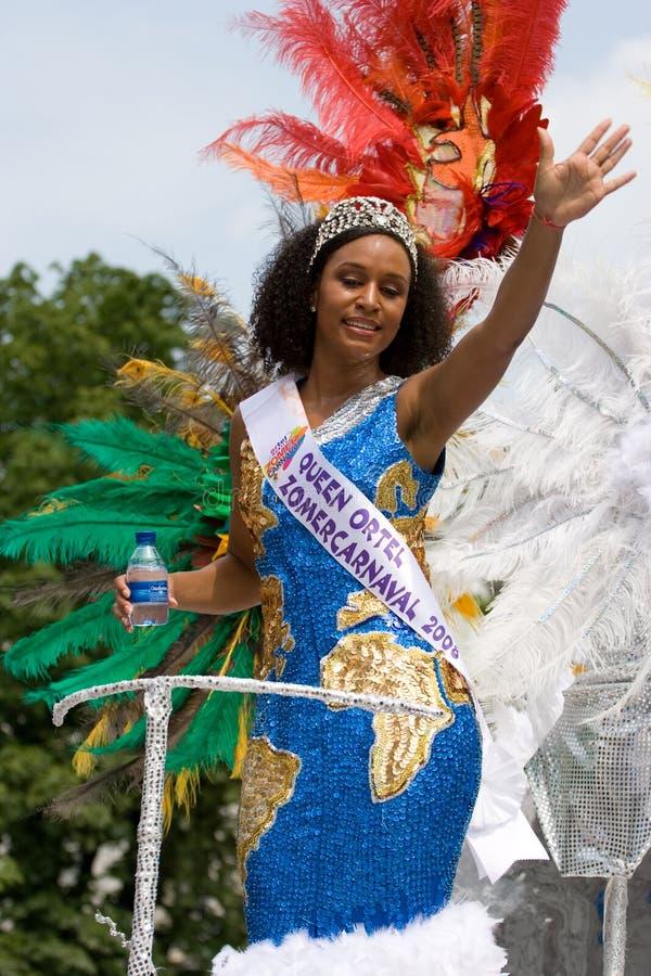 Reina del verano carnaval imagen de archivo libre de regalías
