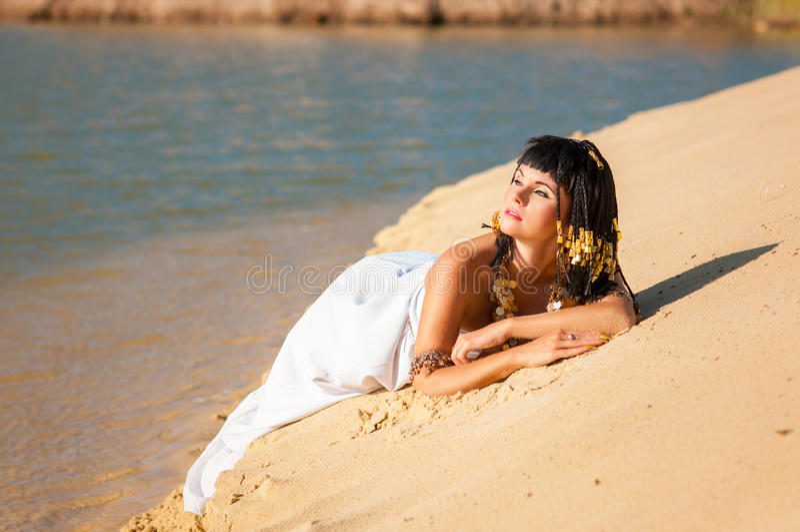Reina egipcia fotos de archivo