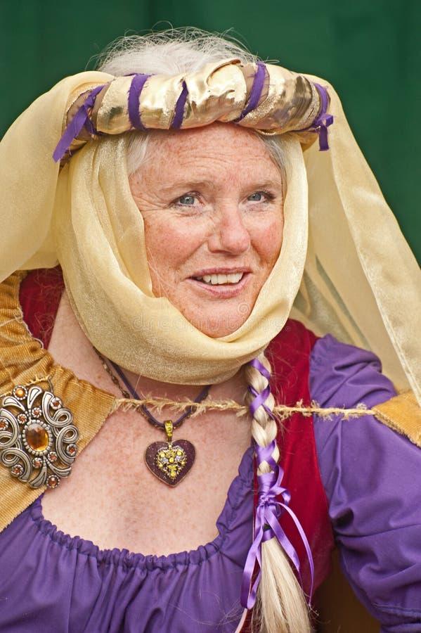 Reina Elizabeth en el castillo de Brodie imagen de archivo libre de regalías