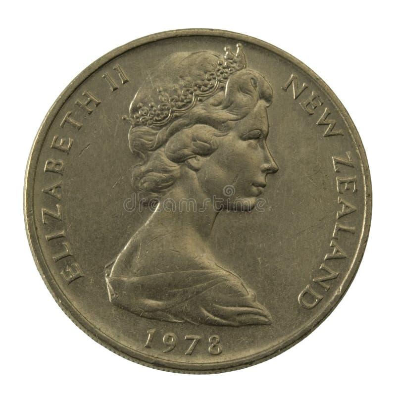 Reina Elizabeth II en Nueva Zelandia bien rasguñada imagen de archivo libre de regalías