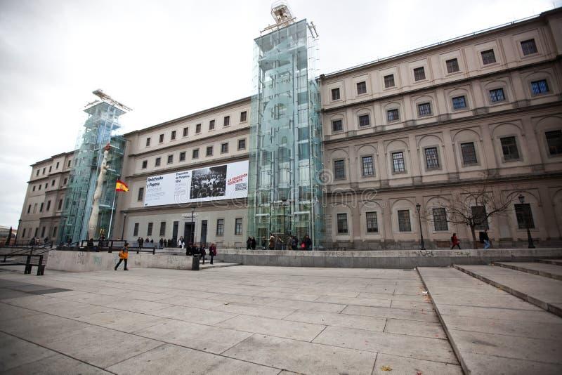 Reina het Museum van de Kunst van Sofia stock fotografie