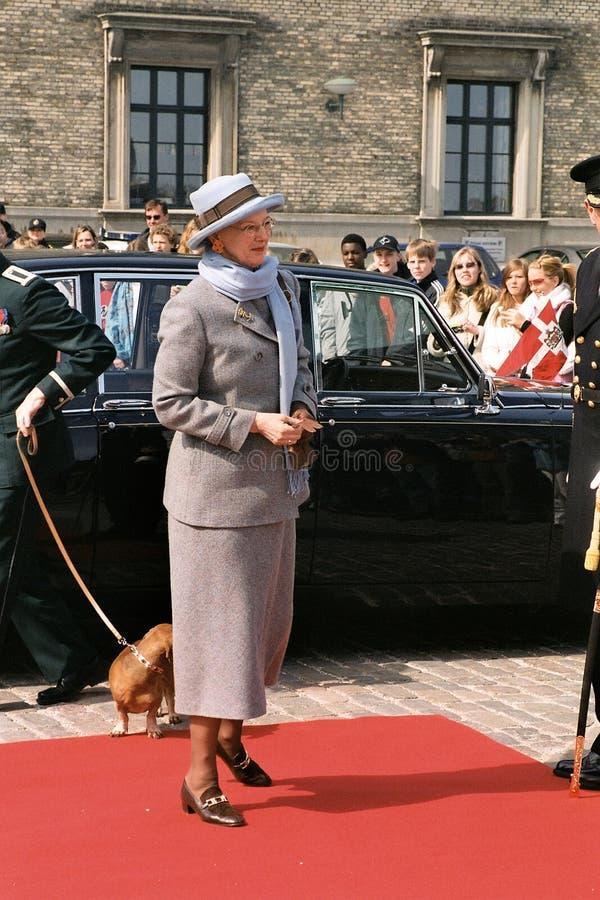REINA MARGRETHE II Y PRÍNCIPE HENRIK OF DINAMARCA imagenes de archivo
