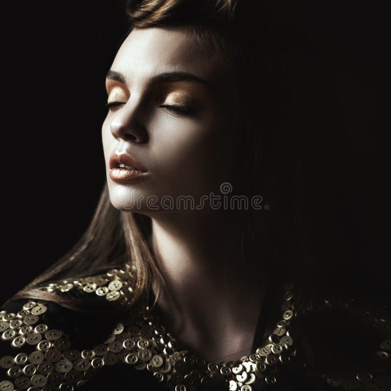 Reina. Mujeres de la moda fotografía de archivo