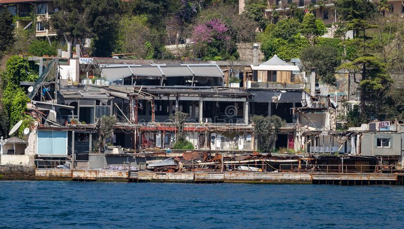 Reina Nightclub em Istambul fotos de stock