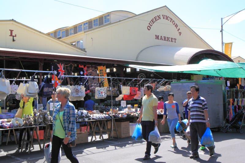 Reina Victoria Market Melbourne imagenes de archivo