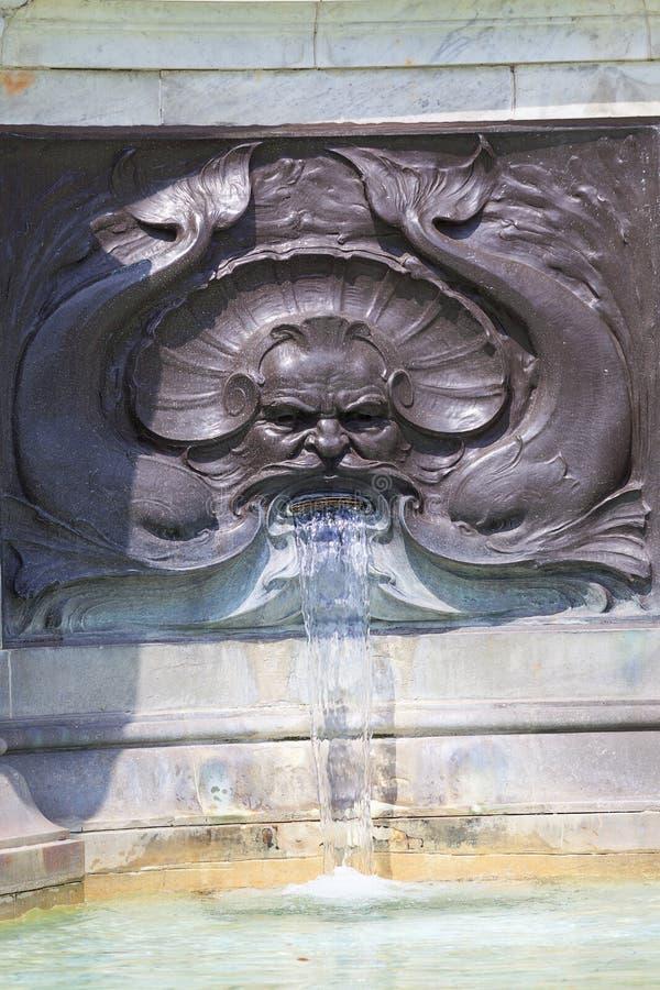 Reina Victoria Memorial delante del Buckingham Palace, fuente, Londres, Reino Unido foto de archivo libre de regalías