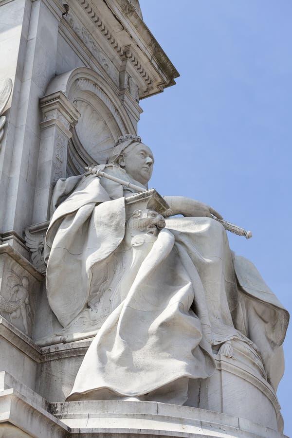 Reina Victoria Memorial delante del Buckingham Palace, Londres, Reino Unido fotografía de archivo