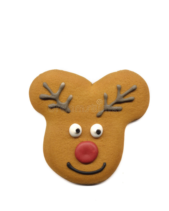 Download Reindeer stock photo. Image of white, santa, nose, cookie - 17047778