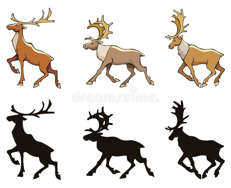 Download Reindeer stock vector. Image of holiday, animal, hoof - 28026701
