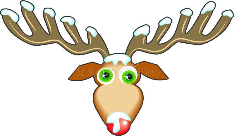 Download Reindeer stock illustration. Image of seasonal, graphic - 43453