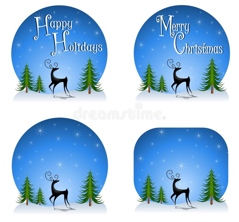 Download Reindeer Backgrounds 2 stock illustration. Image of graphic - 7248148