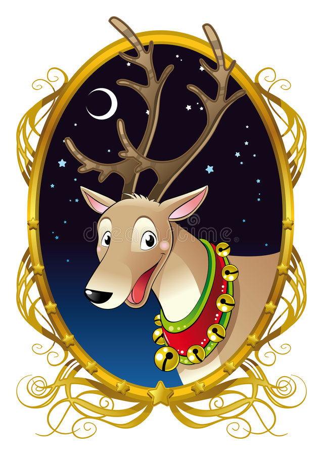 Download Reindeer for Christmas stock vector. Illustration of animal - 7093237