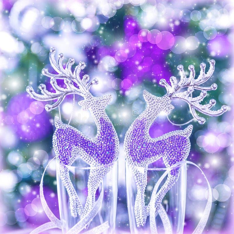 Free Reindeer Christmas Ornament Stock Photos - 35579043