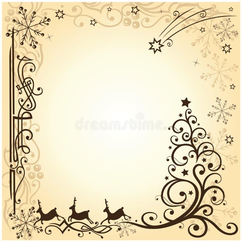 Download Reindeer, christmas, stars stock vector. Image of holidays - 33619787