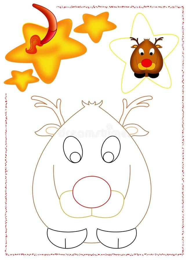 Download Reindeer Coloring Stock Photos - Image: 28065893