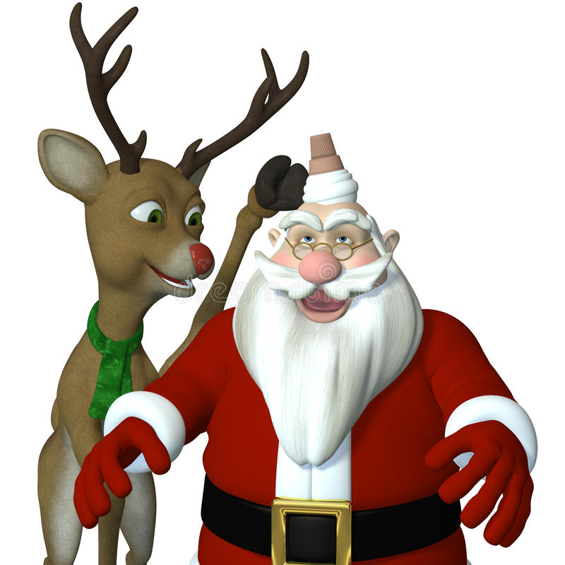 Download Reindeer Games stock illustration. Illustration of reindeer - 24650151