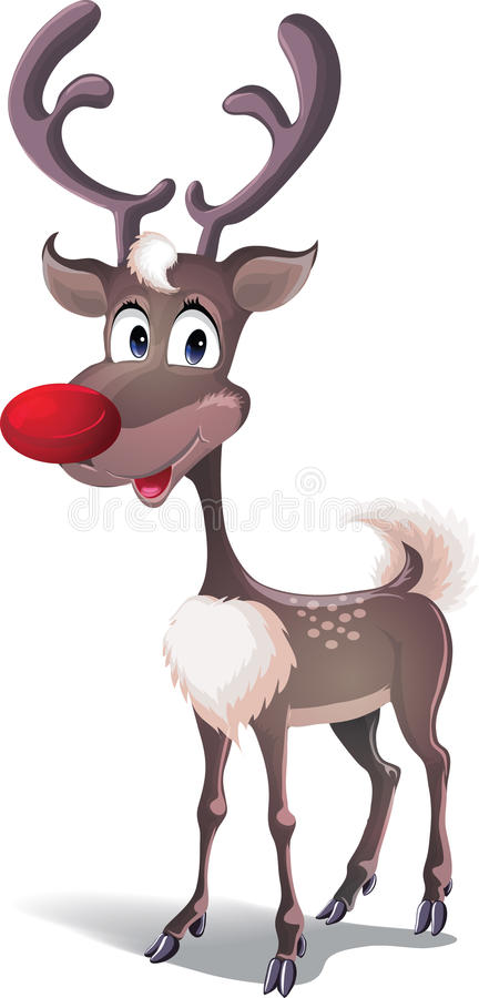 Download Reindeer Rudolph Royalty Free Stock Photo - Image: 17435735