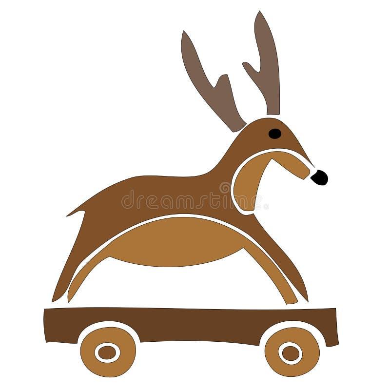 Free Reindeer Toy. Royalty Free Stock Image - 17022176