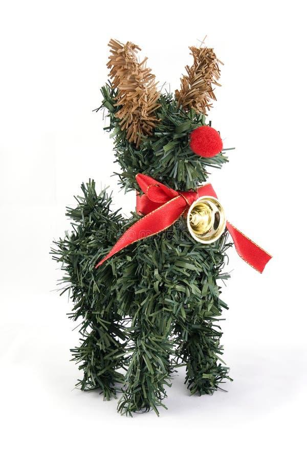Free Reindeer Tree Christmas Ornament Royalty Free Stock Photos - 17438268