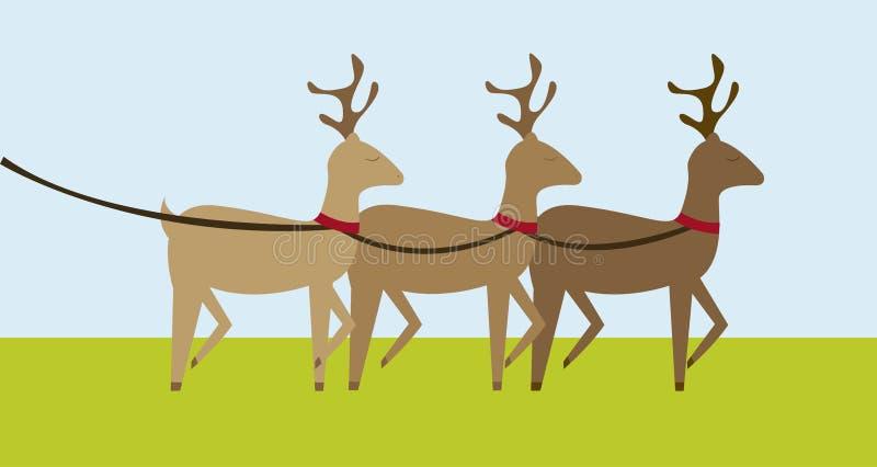Download Reindeers cartoon stock vector. Illustration of party - 21653829